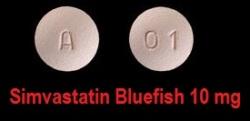 Simvastatin Bluefish 10 mg tabletter