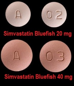 Simvastatin Bluefish tabletter